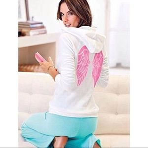 VS supermodel essentials bling angelwings hoodie S